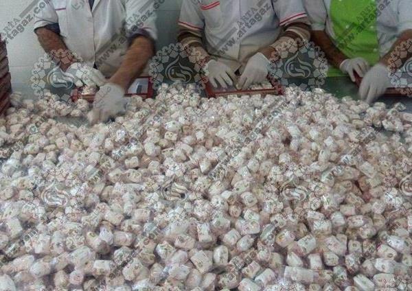 تولید گز در شهر اصفهان